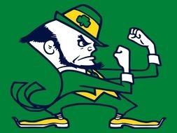 Notre Dame Fighting Irish Leprechaun