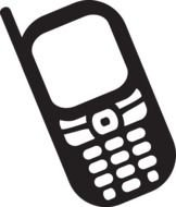 Clip art of Cell Phone