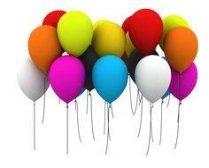 Happy Birthday Balloons Clip Art Free N6