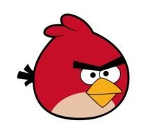Angry Birds Clip Art drawing