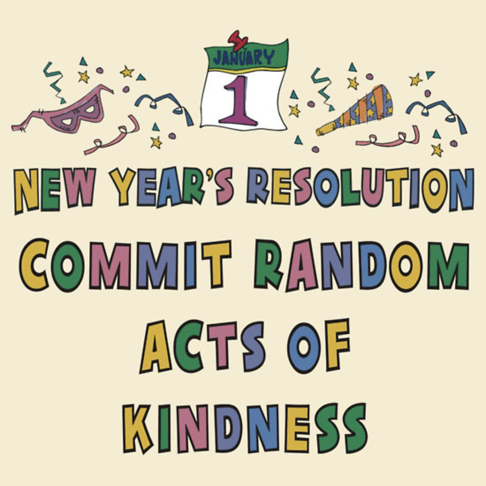 Random Acts Of Kindness Clip Art Free Image