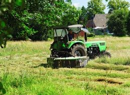Hay Mow Rural Agriculture