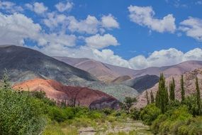 mountain landscape in argentina