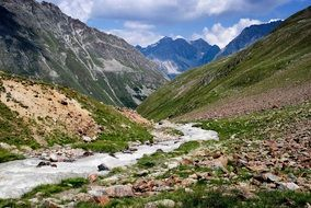 river Mountains The Alps Austria landscape