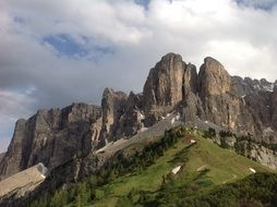 breathtaking south tyrol mountains