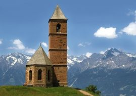 Church Of The Dolomites South Tyrol