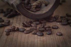 coffee beans as a natural product