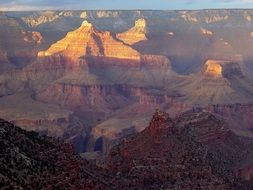 Landscape Picture of Grand Canyon at the sunset