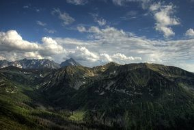 Tatry Poland Czerwone Wierchy mountain panorama