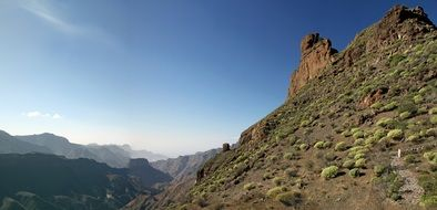 Landscape of Canary Islands in Spain