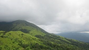 Green Karnataka mountains