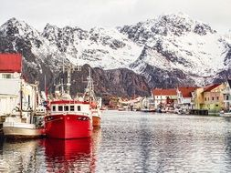 Lofoten Norway Port