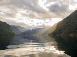 boat trip in the fjords in Norway
