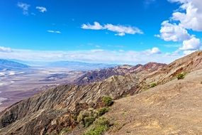 Dante's View is an observation terrace overlooking Death Valley