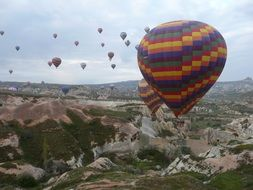 Turkey Cappadocia Hot Air