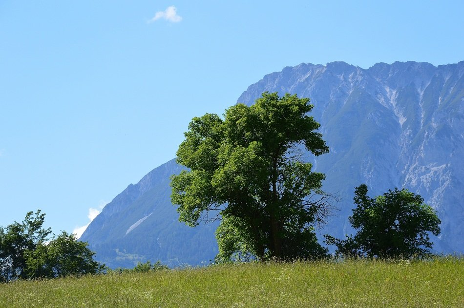 extraordinary beautiful Sautens Mountains