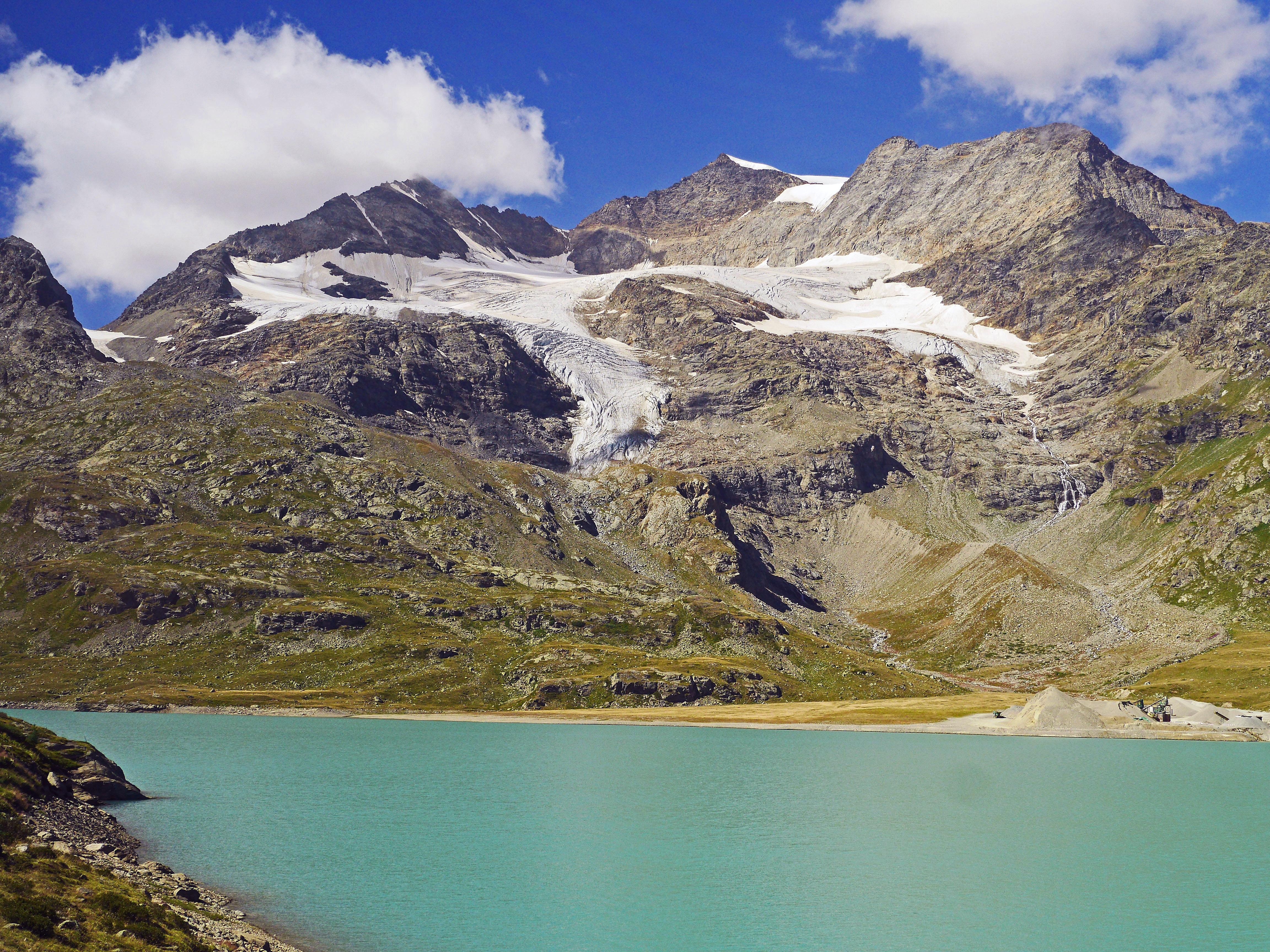 Piz Bernina, Moteratsch Glacier, Engadine, Switzerland  № 1473501 без смс