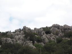 rock formations in Mallorca