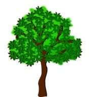 clip art of a tree