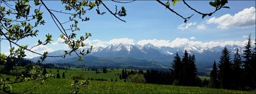 mountains Tatry highest point