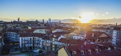 turin in the morning
