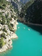 Gorge Turquoise Water