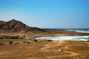 coastal landscape in Cape Verde