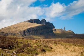 mountainous area on the Isle of Skye