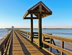 wooden bridge in tampa bay