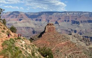Grand Canyon amazing landscape