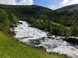Waterfall Norway