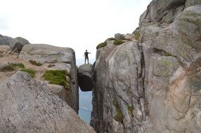Kjerag is a mountain in norway