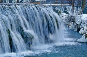 ice water cascade