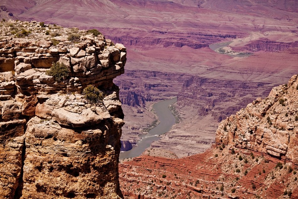 variety of rocks in the grand canyon