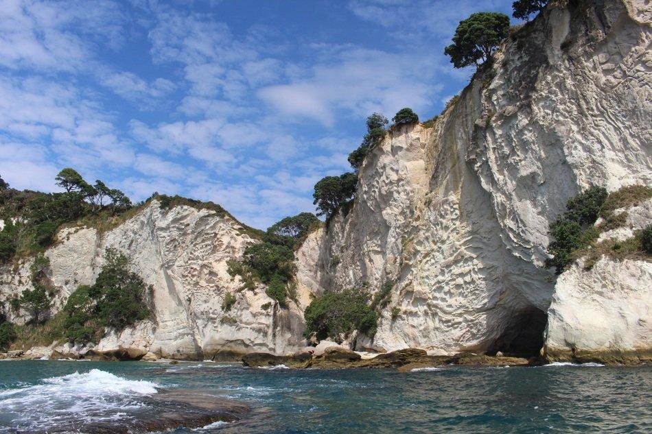 rocky coast of new zealand