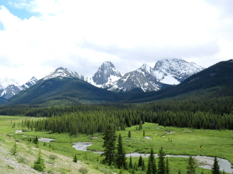 Mountains in Alberta