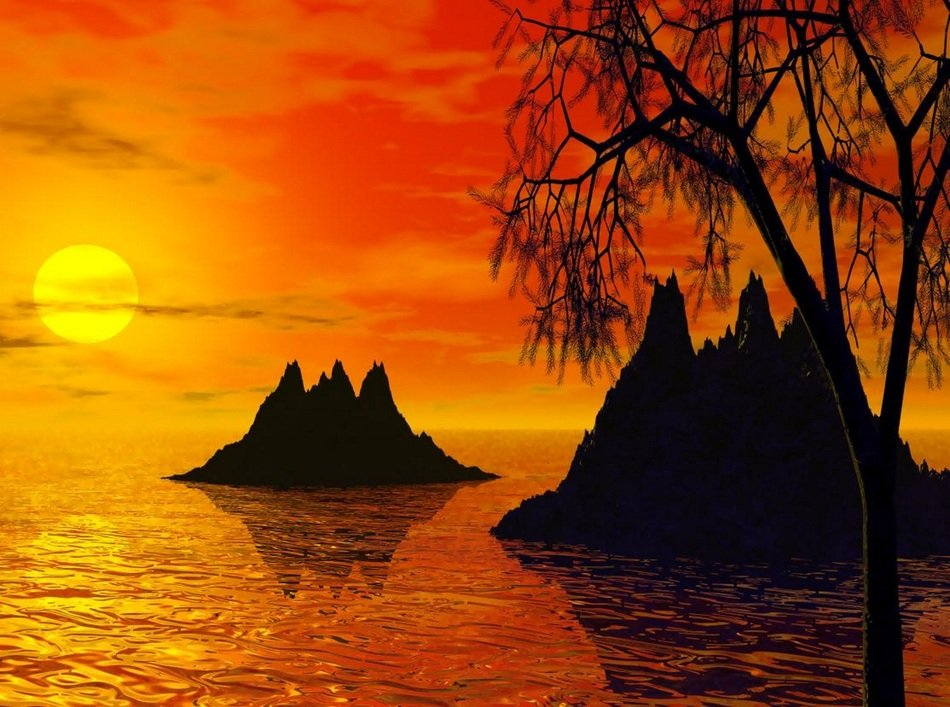 Sunset Islands