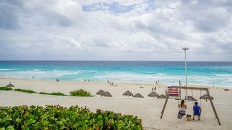 Beach Cancun Mexico Tourism