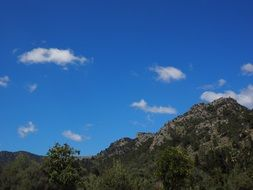 rocky mountains in Mallorca
