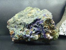 Azurite, Copper Ore rock