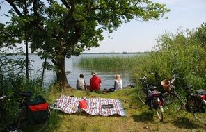 people on a picnic in the netherlands