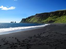 fascinating Black Sand Beach