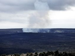 Kilauea is a shield volcano in Hawaii