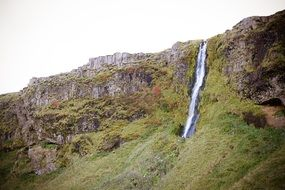 famous waterfall in Iceland