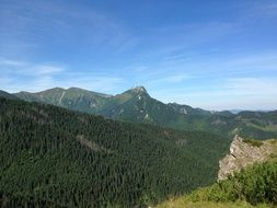 tatry poland green hills mountains landscape