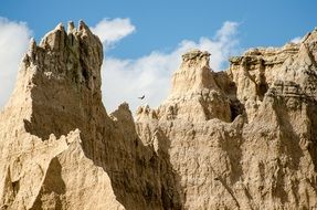 the Badlands in South Dakota