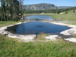 Yellowstone Pond National Park