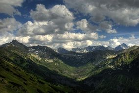 Tatry Poland mountain sky panorama