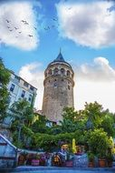 Wiev Tower Landscape Istanbul
