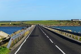 Highway on Orkney